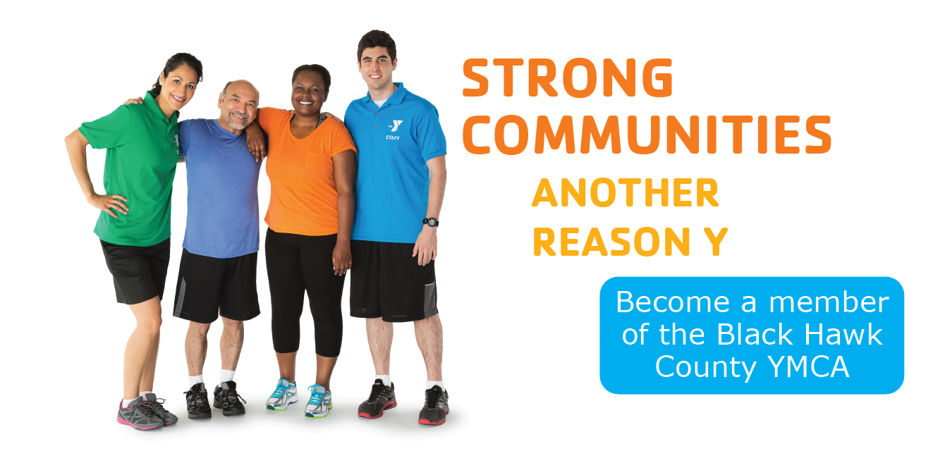 Become a member of the Black Hawk County YMCA